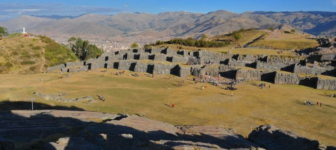 Another view of Sacsayhuaaman