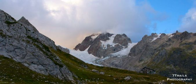 Sunset at Rifugio Elizabetta