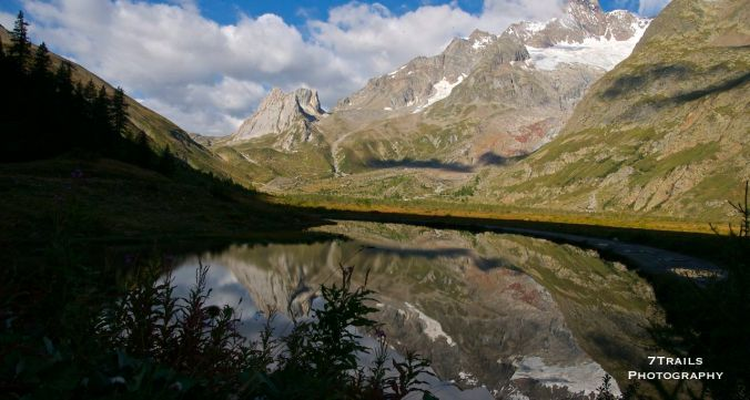 Alpine lake below Rifugio Elizabette (E. Saldini)