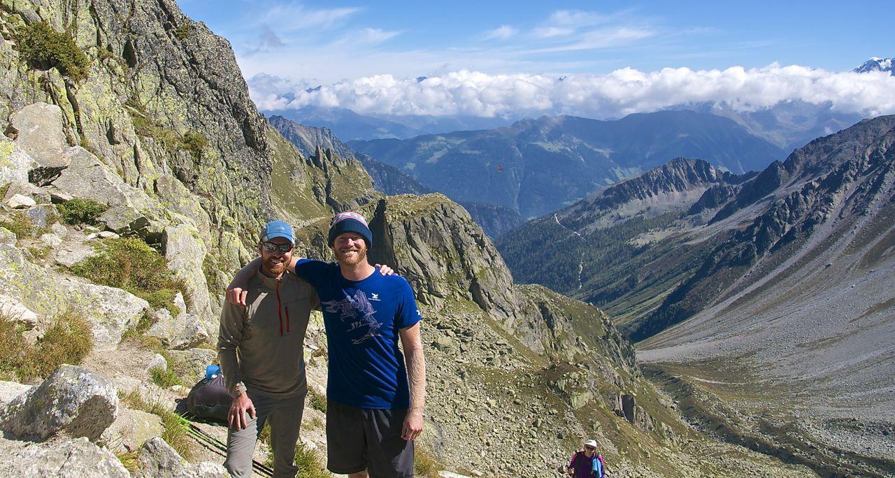 Tour de mont blanc for Fenetre d arpette